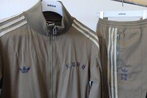 Adidas Originals X Neighbourhood full tracksuit jacket M bottoms S khaki 2018