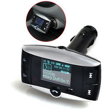 "1.5"" Lcd Screen Display Car Mp3 player Usb Remote Fm Transmitter Bluetooth"