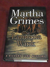 The Lamorna Wink by Martha Grimes (1999, Hardcover) SIGNED 1st print FN / FN
