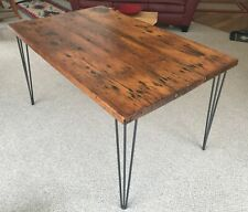 Handmade Reclaimed Barn Wood Kitchen Table