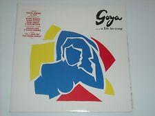 GOYA …..A LIFE IN SONG LP Placido Domingo DIONNE WARWICK Gloria Estefan