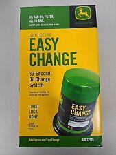 John Deere Genuine OEM Easy Change Oil Filter AUC12916 E120 E130 E150 E160 E170