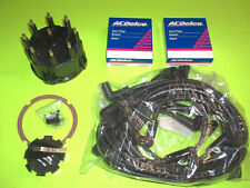 MERCRUISER 5.0 5.7 454 350 TUNE UP KIT CAP ROTOR WIRES SPARK PLUGS THUNDERBOLT