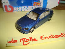 BMW 335 I COUPE 3 PUERTAS AZUL 1/43 B BURAGO NUEVA EN CAJA