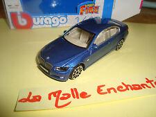 BMW 335 I COUPE 3 PORTES BLEU 1/43  B BURAGO NEUVE EN BOITE