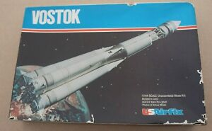VINTAGE 1979 US AIRFIX RUSSIAN VOSTOK ROCKET MODEL KIT #70080 1/144 USAIRFIX
