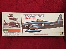 HAWK GRUMMAN F8F-2 BEARCAT MODEL KIT 562-130 VINTAGE 1967