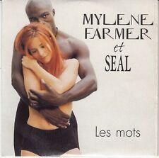 CD SP 2T MYLENE FARMER  & SEAL *LES MOTS*