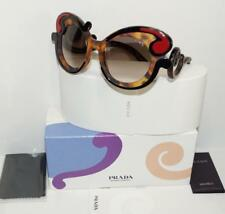 50280f6ea5d NEW AUTH PRADA MINIMAL BAROQUE BROWN HAVANA RED SUNGLASSES SPR 23N W CASE  -ITALY