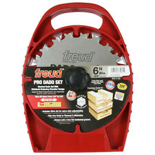 Freud SD206 6-Inch Heavy Duty Anti-Kickback Splinter-Free Dado Blade Set