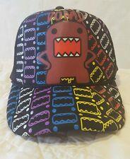 Domo Black Snapback Adult Hat