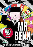Mr Benn The Complete Series DVD Animation mister ben All Episodes UK New Sealed