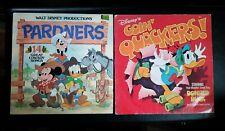 Walt Disney Pardners  Lp Record Vinyl & Goin' Quackers!
