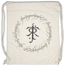 Ring Text Turnbeutel Herr der Frodo Ringe Inschrift Mordor Sauron Aufschrift