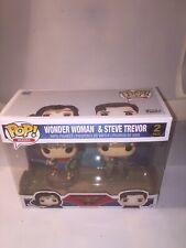 Funko Pop Heroes Wonder Woman & Steve Trevor 2 Pack