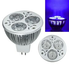Cool High Power 3W 3x1W MR16 UV Ultraviolet Purple Light LED Bulb Lamp 12V