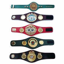 IBO IBF WBA WBC WBO MINI Boxing Champion Title Belts Set Of 5 Mini Belts