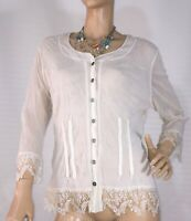VERGE SIZE XL STRETCH DOUBLE MESH TOP