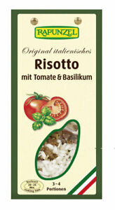 (1,40 EUR/100 g) Rapunzel Risotto mit Tomate und Basilikum vegan bio 250 g
