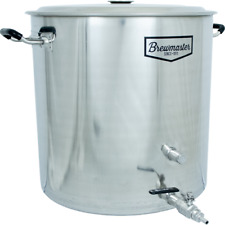 18.5 Gallon Brewmaster Stainless Steel Brew Kettle Homebrew