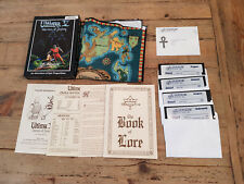 "Ultima V: Warriors of Destiny, Origin, IBM PC MS-DOS Big Box, 5,25"" disks"