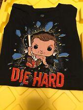 Funko Pop Tees Die Hard John McClane Target Exclusive Xl T-Shirt - Free Shipping