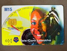 Chip kaart gebruikt Lesotho