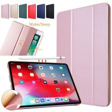 """For iPad Pro 11"""" 2nd Gen 2020 Slim Smart Case Trifold Stand Silicone Back Cover"""