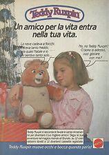 X2114 Teddy Ruxpin - Mattel - Pubblicità 1986 - Advertising