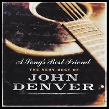JOHN DENVER (2 CD) A SONG'S BEST FRIEND : THE VERY BEST OF ~ GREATEST HITS *NEW*