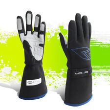 NRG INNOVATIONS LARGE SIZE L DOUBLE LAYER RACING FULL FINGER GLOVES GS-500BK