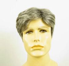 Perruque homme 100% cheveux naturel grise poivre et sel ref ALAIN 44