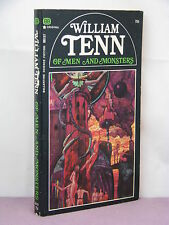 1st, signed by author, Of Men and Monsters by William Tenn (1968) PBO