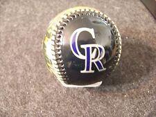 2006 Colorado Rockies R you in? Coors Field baseball ball Coca Cola lg tin