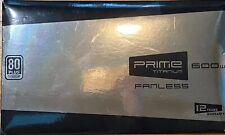 Seasonic SSR-600TL PRIME 600W 80 PLUS Titanium ATX12V Fanless Power Supply USA