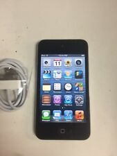 Apple iPod touch 4th Generation Black (8 GB) - Good Working Condition - No Ca