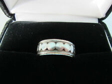 STERLING SILVER RING, SIZE 8