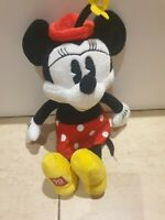 Disney Minnie Mouse 90 Years Of Magic Plush teddy polka dot rare collectable