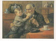 C Jetses Grandfather and I Postcard Unused VGC