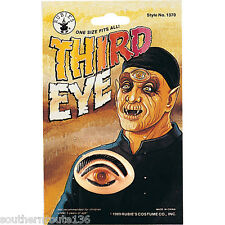 Third 3rd EYE MakeUp Prosthetic Horror Party Halloween Costume Scary Prop NEW