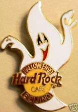 Hard Rock Cafe BEIJING 1999 HALLOWEEN PIN Scream GHOST Spooky w/HRC Logo - #1124