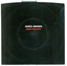 James Brown King Heroin WLP with Original Picture Sleeve Polydor 14116 Disc NM+