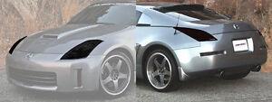 Fits 03-08 350Z GTS Acrylic Smoke Headlight Taillight Covers 4pc GT0784S GT4784