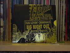 FUN LOVIN' CRIMINALS - BIG NIGHT OUT -  1998 - CD SINGLE,  RARE, OOP, MINT,