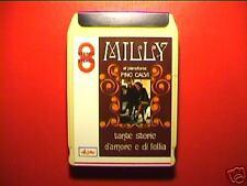 """MILLY """"Tante storie.."""" STEREO8 SIGILL TENCO LEO FERRè"""