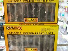 MTH O Gauge Subway Trains Elevated Trestle System Set  16 Pieces Total Brand New