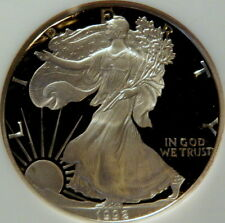 1992 S PROOF SILVER EAGLE,  NGC PF 69 ULTRA CAMEO