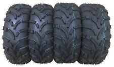 Set of 4 WANDA ATV Tires AT 26x9-12 Front & 26x10-12 Rear /6PR -10258/10259 Mud