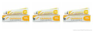 3 Pack X SBL Calendula Cream Homeopathic 25 gm Each Healing Cream - F/Ship