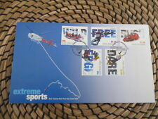 New Zealand fdc 2004 Extreme Sports     full set of  stamps